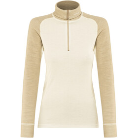 Devold Duo Active Zip Neck Midlayer Dames wit